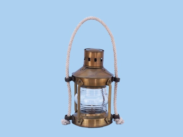 Brass Round Anchor Lantern