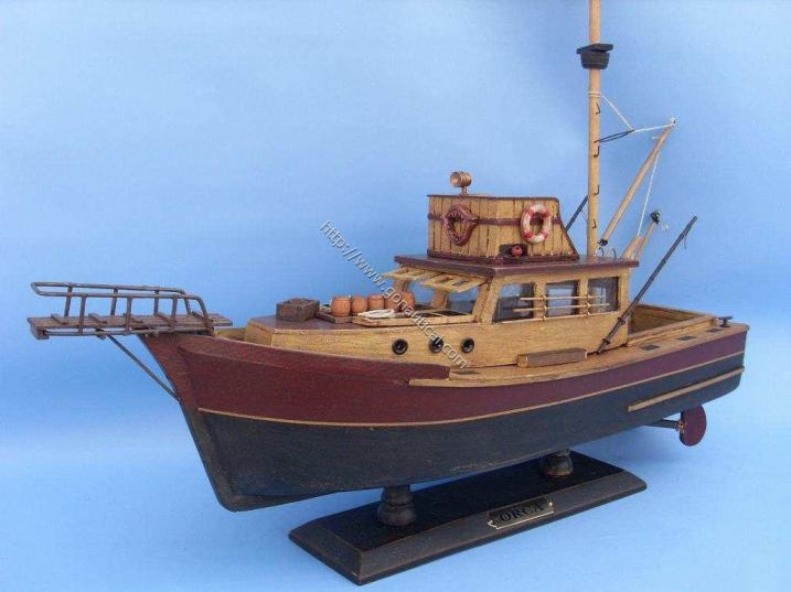 Jaws/Orca Boat Model Replica