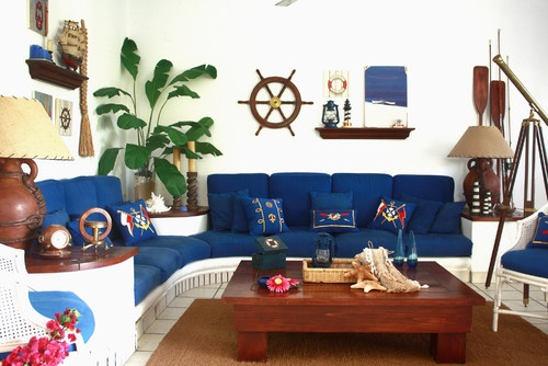 Nautical Decorating Ideas  Go Nautical