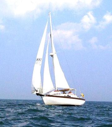 Cruising Atlantic Ocean