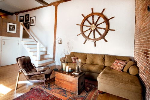 Decorating with Ship Wheel