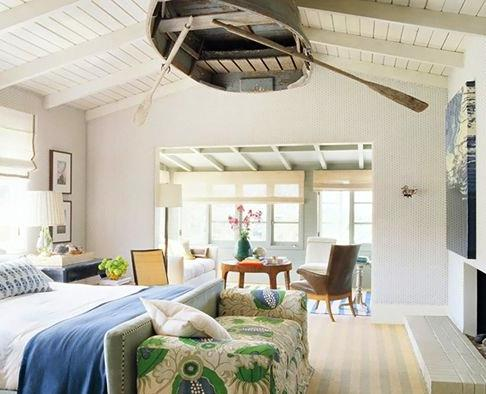 Beach house decorating go nautical - Beach house decorating ideas on a budget ...