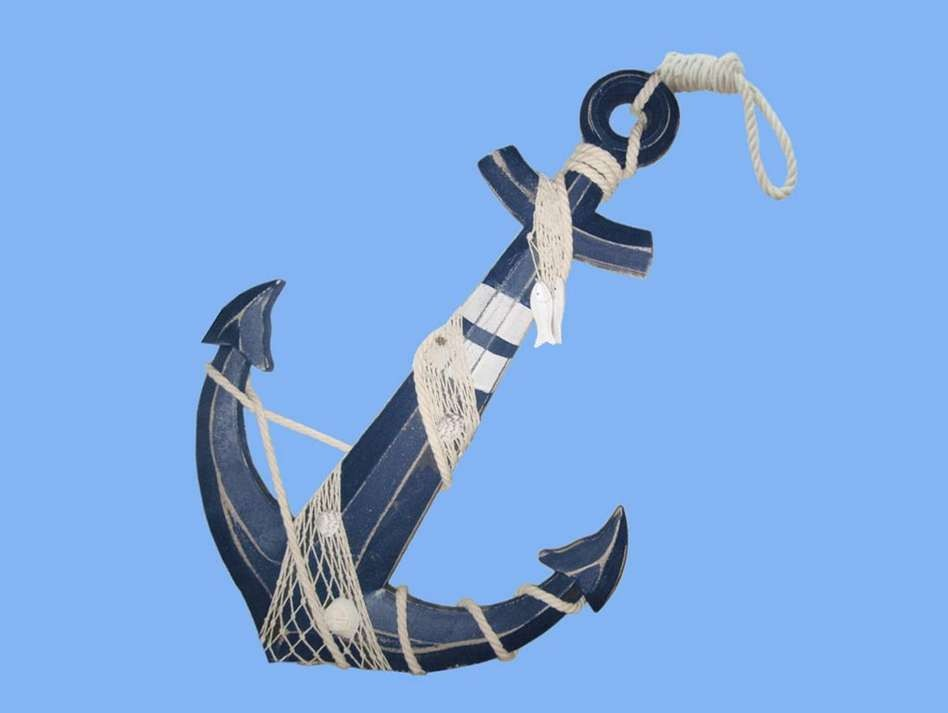 Decor go nautical for Anchor decoration