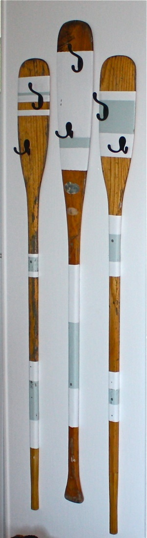 Decorative Wooden Oars