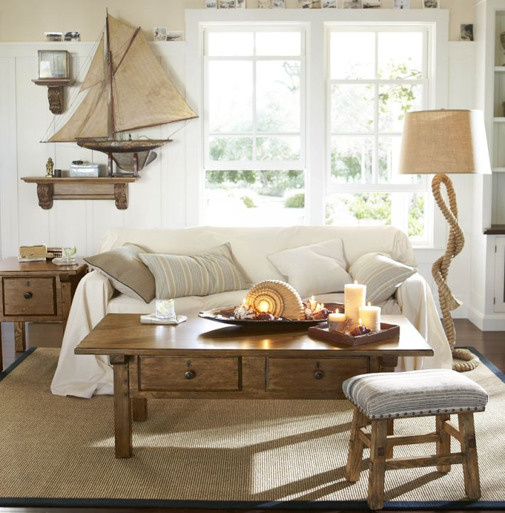 Wonderful Nautical Theme Home Decorating Ideas. Marine Life And The Nautical  Artifacts Have An Interesting Connection With Our Childhood Excitement And  Thrill ...