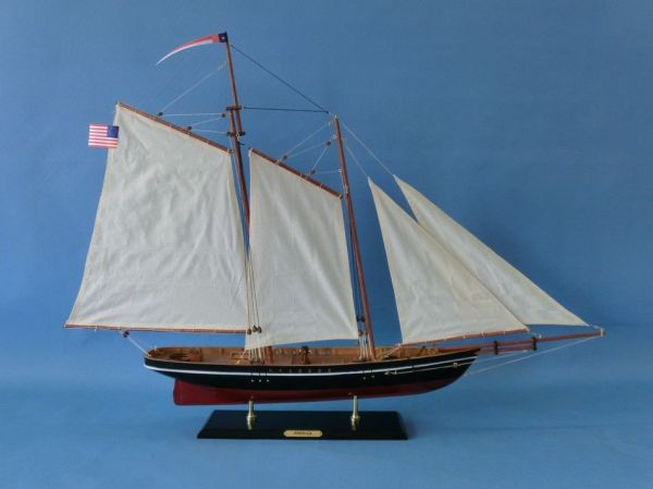Schooner America Wooden Model Replica