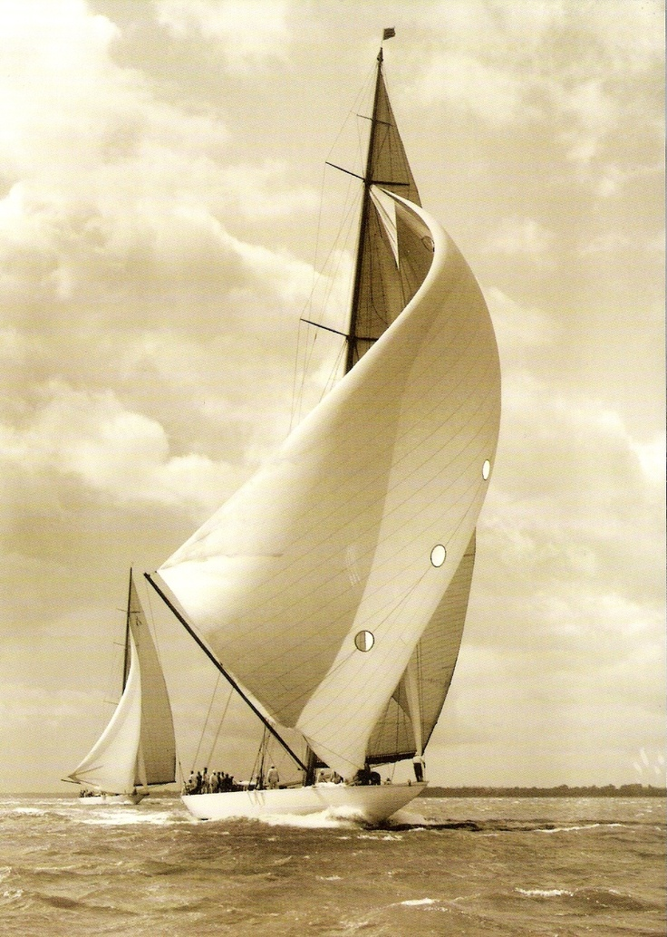 J Class Sailboats | Nautical Handcrafted Decor Blog