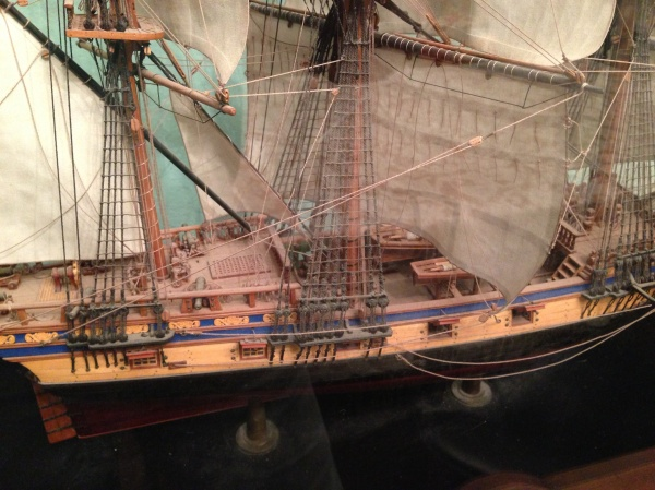 Tall Ship, Gun Ship Model