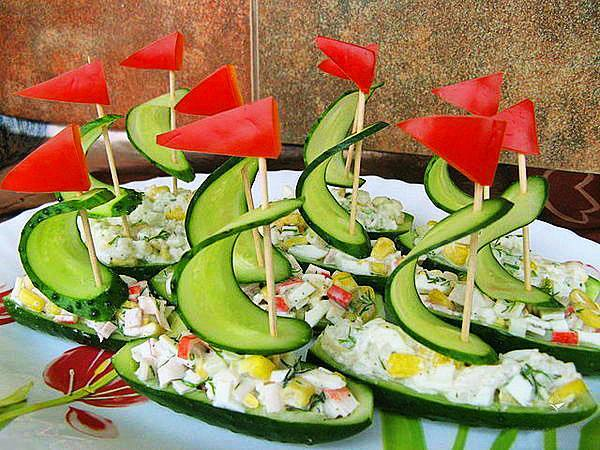 Nautical theme food creation go nautical for Creation cuisine