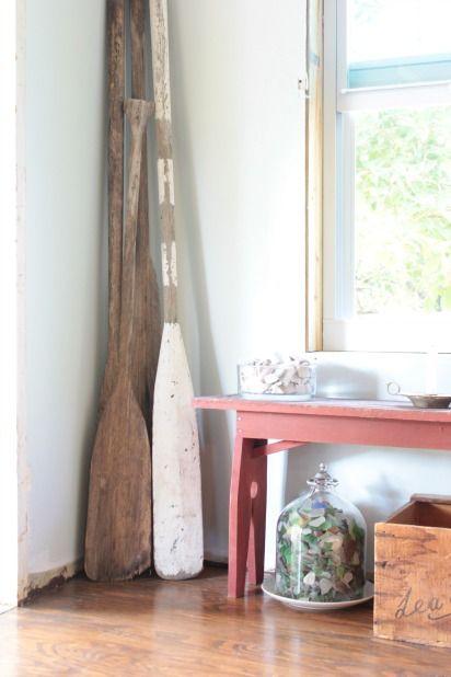 Decorative Rustic Oars Nautical Handcrafted Decor Blog