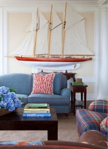 sailboat model decoration