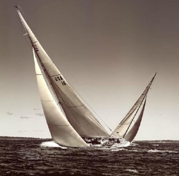 Classic Sailboat RACING