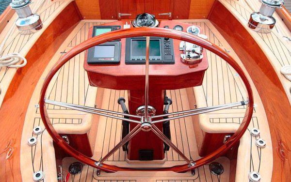 classic yacht interior